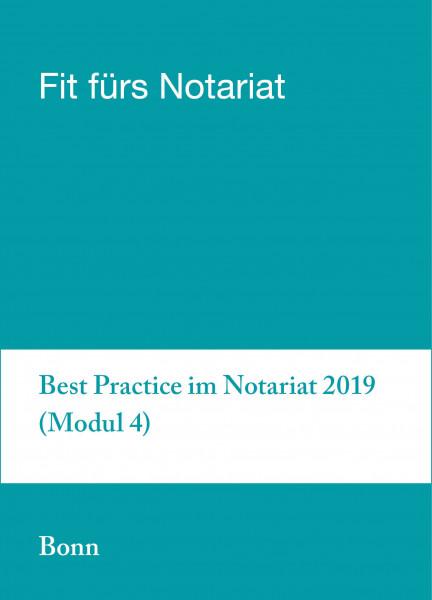 18. bis 22.11.19 - Fit für`s Notariat Modul 4