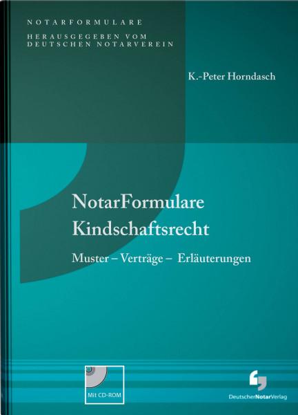 NotarFormulare Kindschaftsrecht