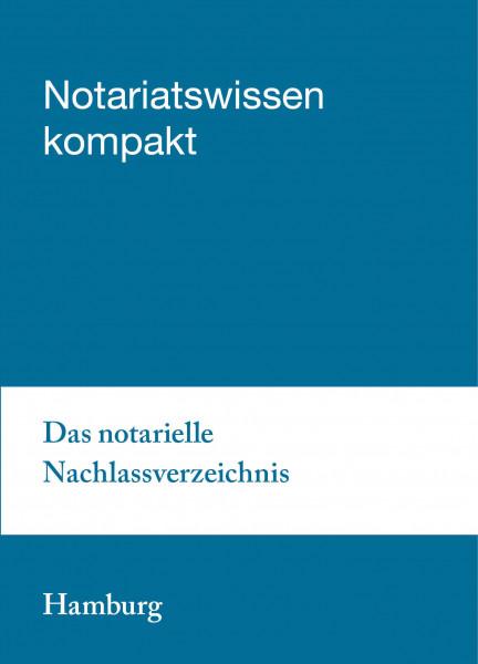 06.02.20 in Hamburg - Das notarielle Nachlassverzeichnis