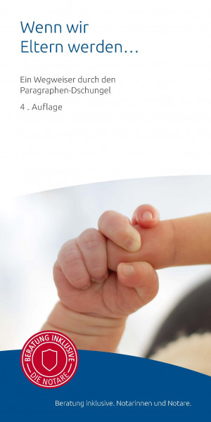 """Infobroschüre """"Wenn wir Eltern werden"""" (50)"""