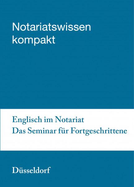 04.06.20 in Düsseldorf - Englisch im Notariat