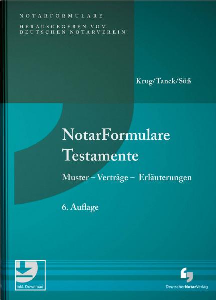 NotarFormulare Testamente