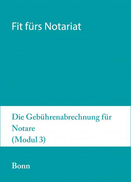 13. bis 17.09.21 in Bonn - Fit fürs Notariat Modul 3