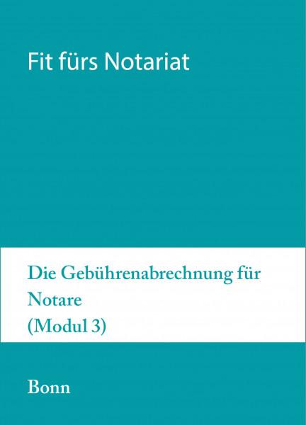21.bis 25.09.20 in Bonn - Fit für`s Notariat Modul 3