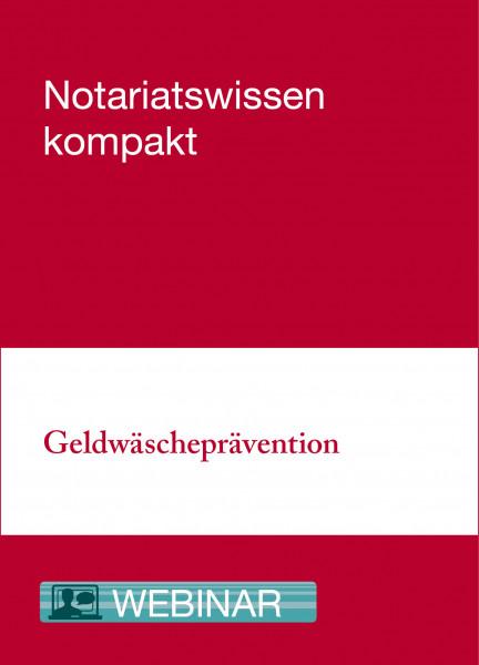 Online-Seminar: 22.04.21 - Geldwäscheprävention